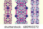 neckline is embroidered with a... | Shutterstock .eps vector #680903272