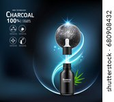 collagen serum and vitamin...   Shutterstock .eps vector #680908432