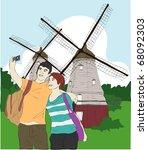 travel story | Shutterstock .eps vector #68092303