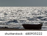 Lifeboat   On The Sea Shore At...
