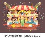 stock vector illustration... | Shutterstock .eps vector #680961172