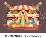 stock vector illustration... | Shutterstock .eps vector #680961202