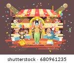 stock vector illustration... | Shutterstock .eps vector #680961235