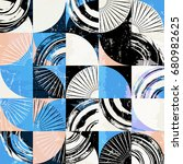 abstract background pattern ... | Shutterstock .eps vector #680982625