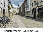 dusseldorf  germany   april 16  ... | Shutterstock . vector #681055666