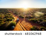 australia  red sand unpaved...