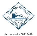 grunge rubber stamp with rock... | Shutterstock .eps vector #68112610