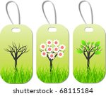 eco seasonal tags | Shutterstock .eps vector #68115184