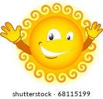 Eye Winking Sun
