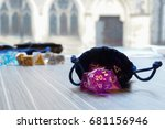 A Set Of Polyhedral Dice Used...