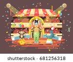 stock vector illustration... | Shutterstock .eps vector #681256318
