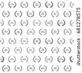 black and white film award... | Shutterstock .eps vector #681278575