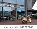 amsterdam  the netherlands  ... | Shutterstock . vector #681292246