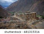 ollantaytambo peru | Shutterstock . vector #681315316