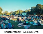 stanley park vancouver bc... | Shutterstock . vector #681338995
