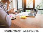 creative team job. young...   Shutterstock . vector #681349846
