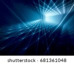 abstract background. fractal... | Shutterstock . vector #681361048