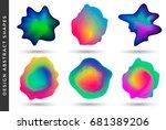 vibrant gradient design
