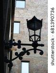 barrio gotico at  barcelona   Shutterstock . vector #681390736