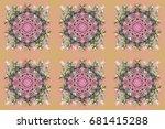 design. stock raster... | Shutterstock . vector #681415288