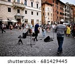 rome  italy   june 26  2014  a... | Shutterstock . vector #681429445