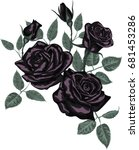 Vector   Beautiful Bouquet Wit...