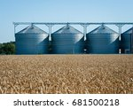 Agricultural Silo  Foregro...