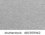 gray fabric texture   Shutterstock . vector #681505462