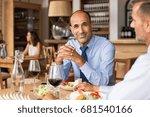 smiling mature businessman...   Shutterstock . vector #681540166
