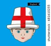vector of  international flags... | Shutterstock .eps vector #681610255