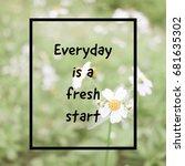 inspiration motivation quote...   Shutterstock . vector #681635302