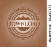 download retro wood emblem