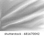 abstract halftone backdrop in... | Shutterstock . vector #681670042