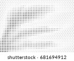 abstract halftone backdrop in... | Shutterstock . vector #681694912