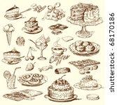 big sweet collection   Shutterstock .eps vector #68170186