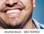 man smiling | Shutterstock . vector #681760402