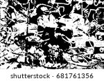 background black and white ... | Shutterstock .eps vector #681761356