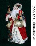 antique looking santa - stock photo