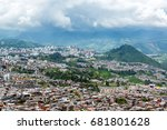 view of manizales  colombia... | Shutterstock . vector #681801628