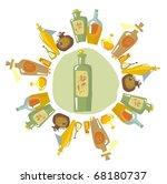 aromatherapy | Shutterstock .eps vector #68180737