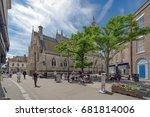 newport  isle of wight  uk.... | Shutterstock . vector #681814006
