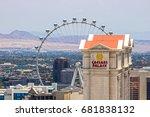 las vegas   circa july 2017 ... | Shutterstock . vector #681838132