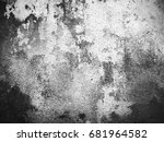 texture background  weathered... | Shutterstock . vector #681964582