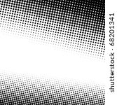 A Black And White Halftone...