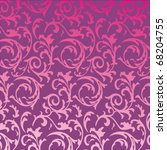 Vector Seamless Pink Floral...