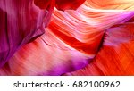 patterns on the rocks of the... | Shutterstock . vector #682100962