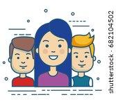 people vector illustration | Shutterstock .eps vector #682104502