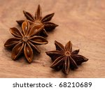Close Up Of Star Anise On...