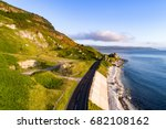 the eastern coast of northern... | Shutterstock . vector #682108162