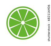 green lemon icon.   Shutterstock .eps vector #682116406